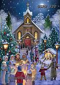Randy, HOLY FAMILIES, HEILIGE FAMILIE, SAGRADA FAMÍLIA, paintings+++++Midnight-Gathering-md-AC-sm,USRW320,#xr#