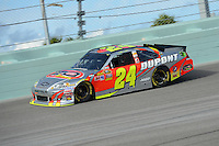 HOMESTEAD, FL - NOVEMBER 17:  Jeff Gordon at NASCAR praice at Homestead-Miami Speedway on November 17, 2012 in Homestead, Florida.  Credit: mpi04/MediaPunch Inc. NortePhoto