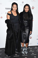 Rita Mahrez and sister<br /> at the London Hilton Hotel for the Asian Awards 2017, London. <br /> <br /> <br /> &copy;Ash Knotek  D3261  05/05/2017