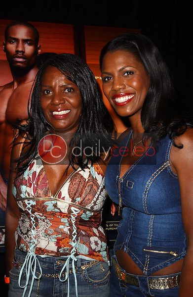 Omarosa Manigault-Stallworth and her mother<br />