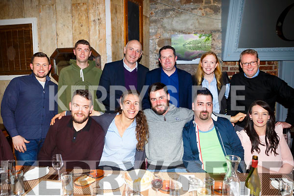 young enterprise ireland programme and Local enterprise office night out at Croi the Square on Friday Front l-r Micheal Kidzinski, Caroline Birch, James Sheehy, Gabor Szucs, Sandra O'Connor, Back l-r Niall Harty, Shane Malloney, Tomas Hayes, Tom O'leary, Melissa O Dwyer and John Lockery