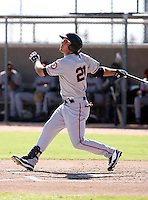 Brandon Crawford - San Francisco Giants - 2010 Instructional League.Photo by:  Bill Mitchell/Four Seam Images..