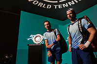 Rotterdam, The Netherlands, 14 Februari 2019, ABNAMRO World Tennis Tournament, Ahoy, quarter final, Wesley Koolhof (NED) / Jurgen Melzer (AUT),<br /> Photo: www.tennisimages.com/Henk Koster