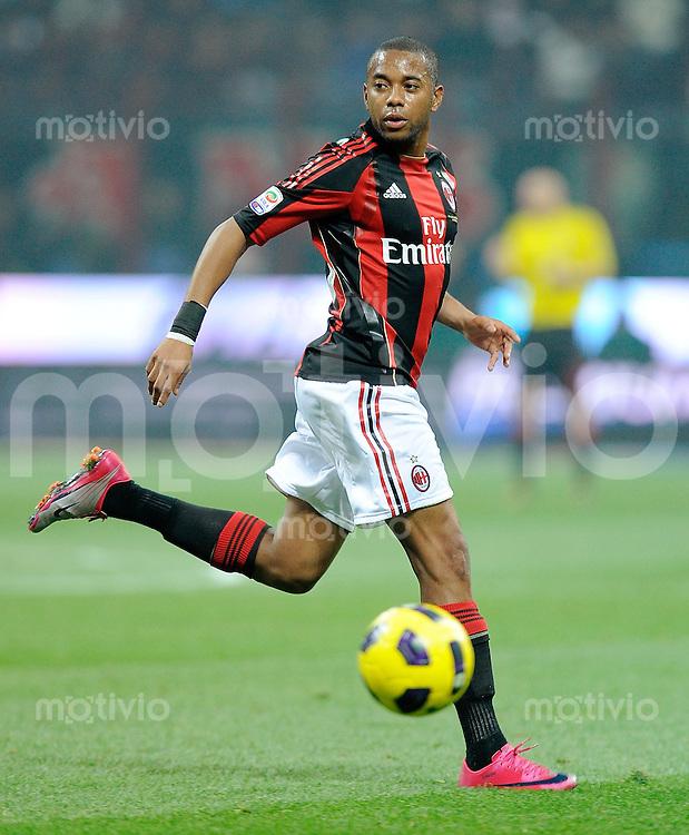 FUSSBALL INTERNATIONAL   SERIE A   SAISON 2010/2011    AC Mailand - Juventus Turin     30.10.2010 Robinho (AC Mailand)