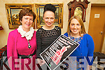 Pictured at the launch of the Sliabh a Mhadra Fundraising Fashion Show taking place in Ballyroe Heights Hotel on Friday 22nd February l-r: Norma O'Carroll, Norma O'Donoghue (Norma O'Donoghue Model Agency) and Nessa Donegan..