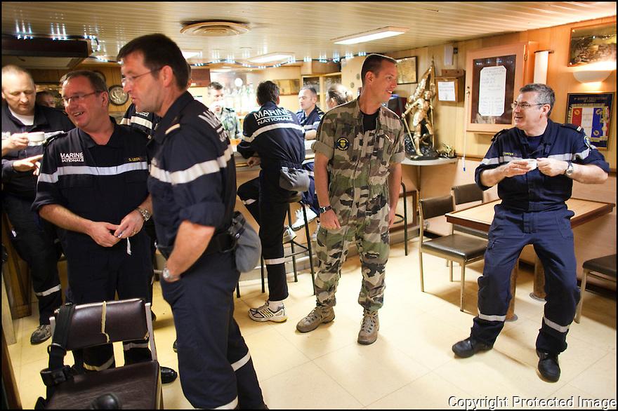 2009 / Officier marinier sup&eacute;rieur.<br /> Le fumoir