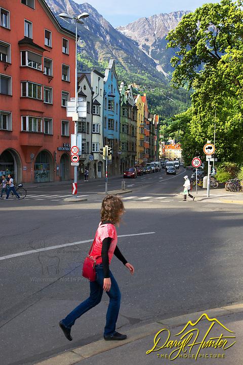 Pedestrian, Innsbruck Austria