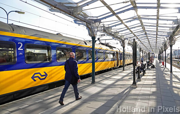 Nederland - Leeuwarden - april 2018.  Station Leeuwarden. Foto Berlinda van Dam / Hollandse Hoogte