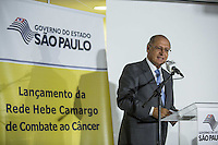 SAO PAULO, SP, 08  DE MARÇO DE 2013. LANÇAMENTO DA REDE HEBE CAMARGO DE COMBATE AO CANCER. durante o lançamento da rede Hebe Camargo de combate ao cancer.  o evento aconteceu no ICESP - Instituto do Cancer do Estado de São Paulo, na região central da capital. Com investimento de R$ 143,5 milhões, a Rede vai ampliar as unidades que oferecem tratamento do câncer e garantir o acesso rápido e de qualidade aos pacientes. FOTO: ADRIANA SPACA/ BRAZIL PHOTO PRESS