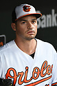 Baltimore Orioles Trey Mancini (16) during a game against the Toronto Blue Jays on April 5, 2017 at Oriole Park at Camden Yards in Baltimore, MD. The Orioles beat the Blue Jays 3-1.