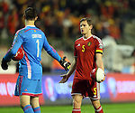 Belgium's Jan Vertonghen looks on dejected at the final whistle<br /> <br /> - European Qualifier - Belgium vs Wales- Heysel Stadium - Brussels - Belgium - 16th November 2014  - Picture David Klein/Sportimage