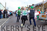 Pupils from Shrone NS dancing at the Rathmore St Patricks parade on Sunday