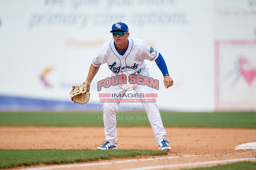 Lexington Legends first baseman Nick Pratto (30) in the field during a game against the Rome Braves on May 23, 2018 at Whitaker Bank Ballpark in Lexington, Kentucky.  Rome defeated Lexington 4-1.  (Mike Janes/Four Seam Images)