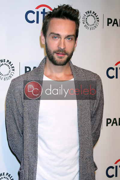 """Tom Mison<br /> at """"Sleepy Hollow"""" at the 31st PALEYFEST, Dolby Theater, Hollywood, CA 03-19-14<br /> David Edwards/DailyCeleb.Com 818-249-4998"""