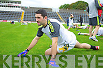 Bryan Sheehan Kerry Senior footballers at their press day at Fitzgerald Stadium on Saturday.