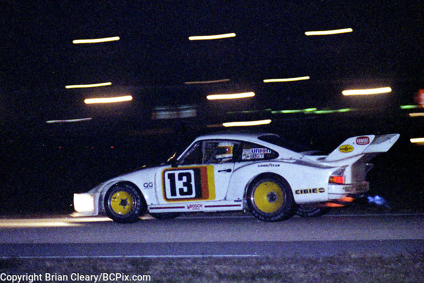 #13 Porsche 935 of Hal Shaw Jr., Jim Busby, and Howard Meister 10th place finish, 1978 24 Hours of Daytona, Daytona International Speedway, Daytona Beach, FL, February 5, 1978.  (Photo by Brian Cleary/www.bcpix.com)