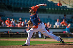 12 March 2014: Houston Astros pitcher Anthony Bass on the mound during a Spring Training game against the Washington Nationals at Osceola County Stadium in Kissimmee, Florida. The Astros rallied in the bottom of the 9th to edge out the Nationals 10-9 in Grapefruit League play. Mandatory Credit: Ed Wolfstein Photo *** RAW (NEF) Image File Available ***