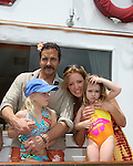 All My Children Thorsten Kaye & One Life To Live Susan Haskell - daughters McKenna & Marlowe - 12th Annual SoapFest - Actors take a break on the Ramblin' Rose on May 15, 2010 on Marco Island, FLA. (Photo by Sue Coflin/Max Photos)