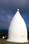 White Nancy, Cheshire, UK..White Nancy was thought to have been built as a summer house by the Gaskell family, who lived below the hill at Ingersley Hall, in about 1815. The origin of the name of this folly, which was used as a warning beacon during both world wars, is unclear, though it is said that the white mare which hauled the building materials up steep Kerridge Hill where the folly is located, was named Nancy..