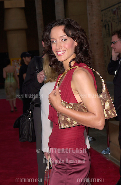Actress JENNIFER BEALS at the Los Angeles premiere of her new movie The Anniversary Party..06JUN2001. © Paul Smith/Featureflash