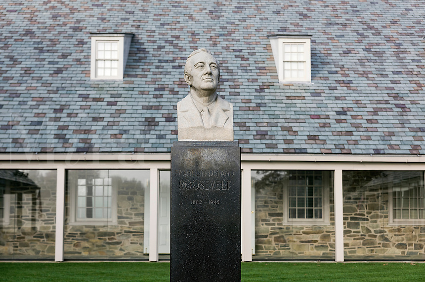 FDR Presidential Library, Hyde Park, New York, USA