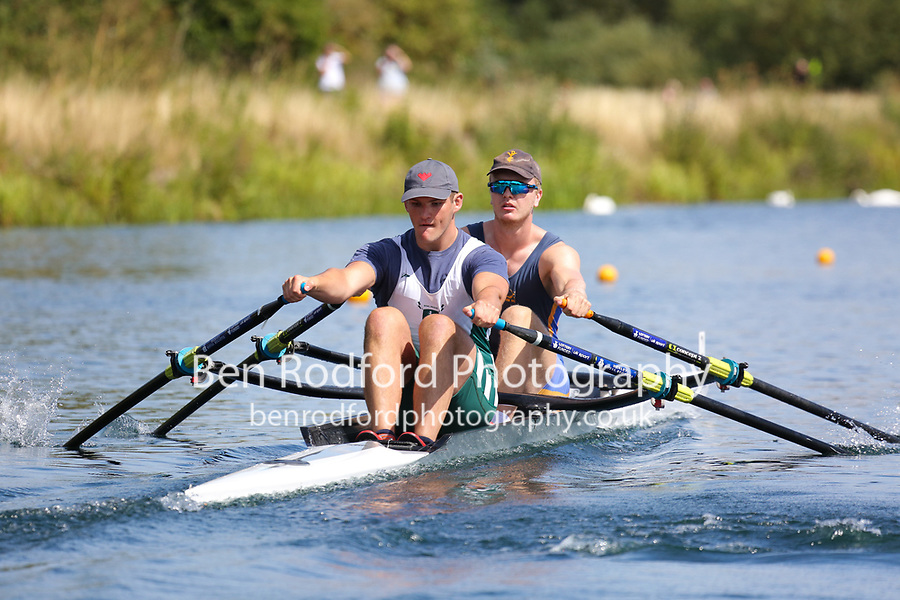 Race: 54  2x (Band 1)  Heat 2<br /> <br /> Peterborough Summer Regatta 2018 - Saturday<br /> <br /> To purchase this photo, or to see pricing information for Prints and Downloads, click the blue 'Add to Cart' button at the top-right of the page.