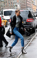 www.acepixs.com<br /> <br /> January 31 2017, New York City<br /> <br /> Model Gigi Hadid arrives at a midtown hotel on January 31 2017 in New York City<br /> <br /> By Line: Curtis Means/ACE Pictures<br /> <br /> <br /> ACE Pictures Inc<br /> Tel: 6467670430<br /> Email: info@acepixs.com<br /> www.acepixs.com
