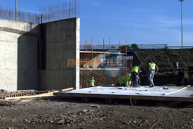 Work taking place on the Drogheda by-pass..pic: Newsfile