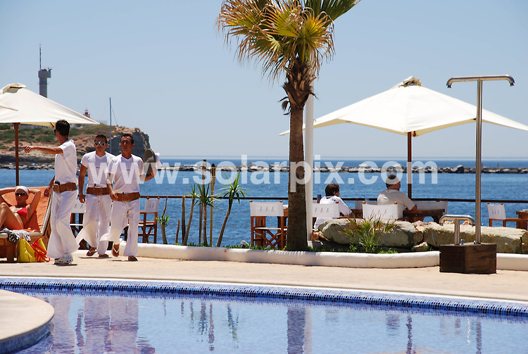 **ALL ROUND PICTURES FROM SOLARPIX.COM**.**WORLDWIDE SYNDICATION RIGHTS**.The stylish new Nikki Beach opened at the Marina of Portimao, Algarve, Portugal in July. So far it is failing to attract the big name celebs but its growing in popularity with the local glitterati. ..This pic:  Nikki Beach Portimao Marina..JOB REF:  4386  PPL        DATE: 19_07_2007.**MUST CREDIT SOLARPIX.COM OR DOUBLE FEE WILL BE CHARGED* *UNDER NO CIRCUMSTANCES IS THIS IMAGE TO BE REPRODUCED FOR ANY ONLINE EDITION WITHOUT PRIOR PERMISSION*