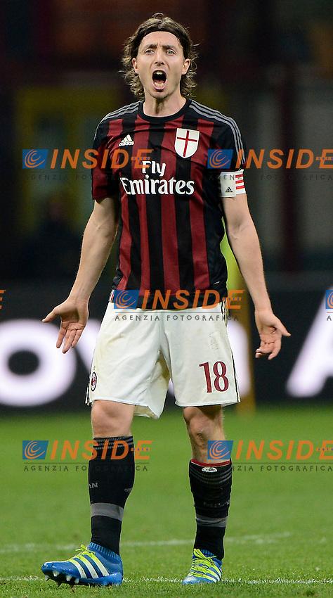 Riccardo Montolivo Milan<br /> Milano 21-04-2016 Stadio Giuseppe Meazza - Football Calcio Serie A Milan - Carpi. Foto Giuseppe Celeste / Insidefoto