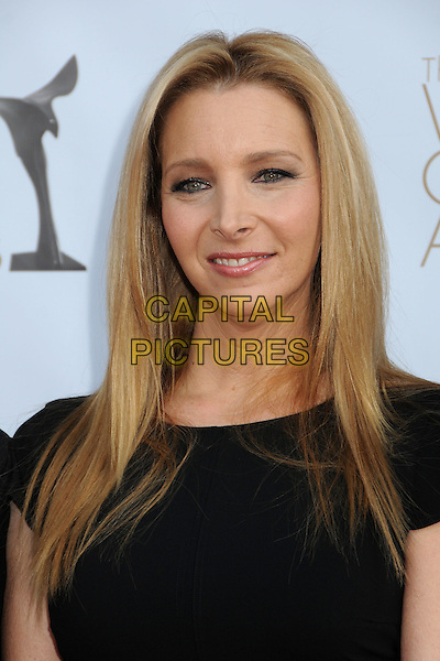 Lisa Kudrow.2012 Writers Guild Awards held at the Hollywood Palladium, Hollywood, California, USA..February 19th, 2012.headshot portrait black.CAP/ADM/BP.©Byron Purvis/AdMedia/Capital Pictures.