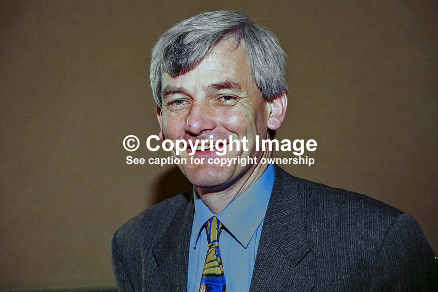 Jim Gibbons, Senator, Progressive Democrats, Rep of Ireland, Ref: 199904006. Taken: Progressive Democrat National Conference Galway - April 1999<br />