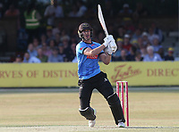 Michael Burgess hits out for Sussex during Essex Eagles vs Sussex Sharks, Vitality Blast T20 Cricket at The Cloudfm County Ground on 4th July 2018