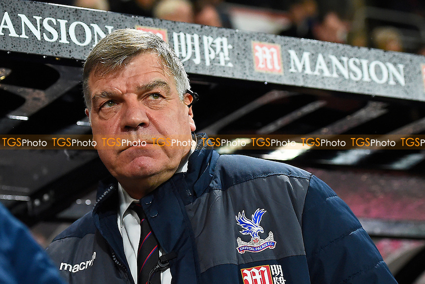 Crystal Palace Manage Sam Allardyce during AFC Bournemouth vs Crystal Palace, Premier League Football at the Vitality Stadium on 31st January 2017