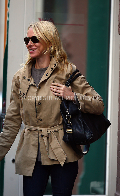 WWW.ACEPIXS.COM . . . . .  ....October 20 2011, New York City....Naomi Watts out in her Noho neighborhood on October 20 2011 in New York City....Please byline: PHILIP VAUGHAN - ACE PICTURES.... *** ***..Ace Pictures, Inc:  ..Philip Vaughan (212) 243-8787 or (646) 679 0430..e-mail: info@acepixs.com..web: http://www.acepixs.com
