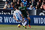 CD Leganes's Juan Francisco Moreno and Real Betis Balompie's Loren Moron during La Liga match between CD Leganes and Real Betis Balompie at Butarque Stadium in Madrid, Spain. February 10, 2019. (ALTERPHOTOS/A. Perez Meca)