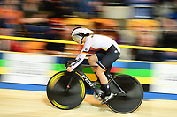 Picture by SWpix.com - 01/03/2018 - Cycling - 2018 UCI Track Cycling World Championships, Day 2 - Omnisport, Apeldoorn, Netherlands - Miriam Welte of Germany Women's 500m Sprint Qualifying