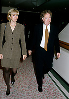 Montreal (Qc) CANADA - Oct 1996- Jean Charest,leader of the federal Progressive Conservative Party of Canada (1993-1998) <br /> and wife Micheline Dionne-Charest