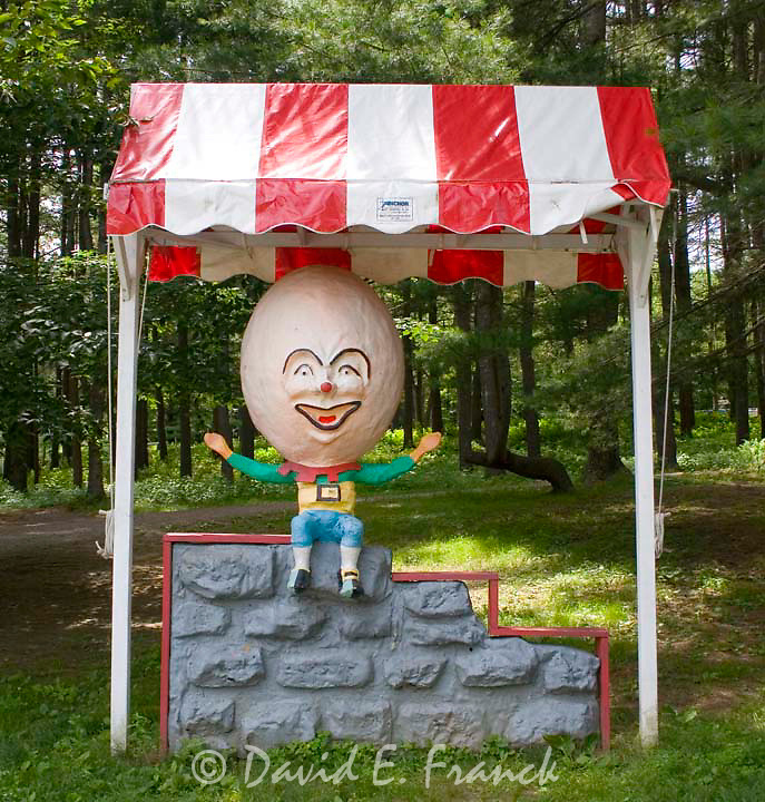 Humpty Dumpty at Santa's Land USA in Putney, Vermont