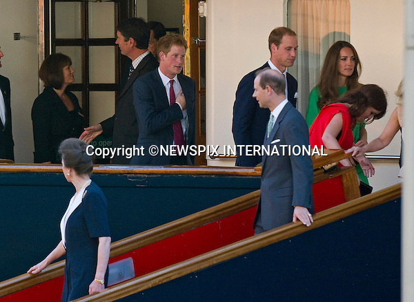 "PRINCE WILLIAM, KATE, PRINCESSES BEATRICE, EUGENIE AND ANNE, PRINCE HARRY, PRINCE EDWARD AND SOPHIE WESSEX.attend Zara Phillips and Mike Tindall's pre-Wedding Reception on HMY Britannia, Leith Wharf, Edinburgh, Scotland_29/07/201.Mandatory Credit Photo: ©Dias/NEWSPIX INTERNATIONAL..**ALL FEES PAYABLE TO: ""NEWSPIX INTERNATIONAL""**..IMMEDIATE CONFIRMATION OF USAGE REQUIRED:.Newspix International, 31 Chinnery Hill, Bishop's Stortford, ENGLAND CM23 3PS.Tel:+441279 324672  ; Fax: +441279656877.Mobile:  07775681153.e-mail: info@newspixinternational.co.uk"