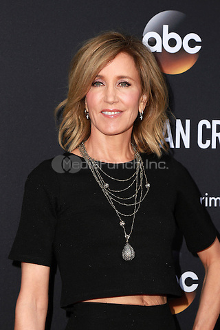 LOS ANGELES, CA - FEBRUARY 28: Felicity Huffman at the American Crime Premiere at the Ace Hotel in Los Angeles, California on February 28, 2015. Credit: David Edwards/DailyCeleb/MediaPunch