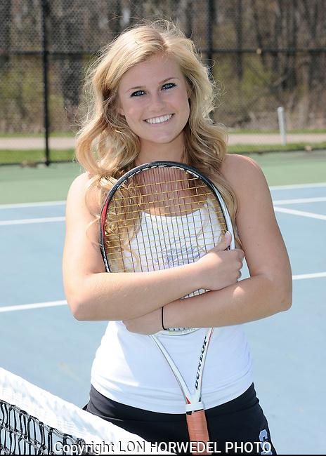 Skyline High School girl's varsity tennis team. 5-6-14.