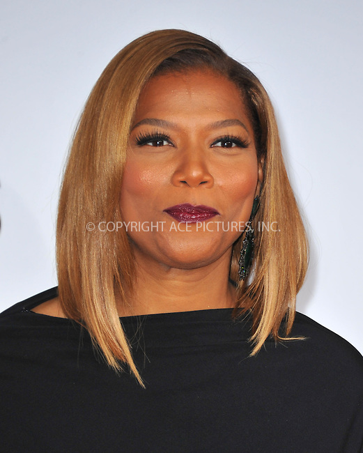 WWW.ACEPIXS.COM<br /> <br /> <br /> January 8, 2014, Los Angeles, CA.<br /> <br /> Queen Latifah arriving atThe 40th Annual People's Choice Awards held at Nokia Theatre L.A. Live on January 8, 2014 in Los Angeles, California. <br /> <br /> <br /> <br /> <br /> <br /> <br /> By Line: Peter West/ACE Pictures<br /> <br /> ACE Pictures, Inc<br /> Tel: 646 769 0430<br /> Email: info@acepixs.com