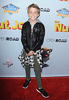 www.acepixs.com<br /> <br /> August 5 2017, LA<br /> <br /> Parker Bates arriving at the premiere of Open Road Films' 'The Nut Job 2: Nutty by Nature' at the Regal Cinemas L.A. Live on August 5, 2017 in Los Angeles, California<br /> <br /> By Line: Peter West/ACE Pictures<br /> <br /> <br /> ACE Pictures Inc<br /> Tel: 6467670430<br /> Email: info@acepixs.com<br /> www.acepixs.com