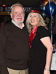 Brian Reynolds and carol Farrelly at Eddie Thornton's 75th birthday in The Cottage Inn Laytown. Photo:Colin Bell/pressphotos.ie