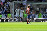 Real Madrid´s Cristiano Ronaldo and James Rodriguez celebrates a goal during 2014-15 La Liga match between Real Madrid and Granada at Santiago Bernabeu stadium in Madrid, Spain. April 05, 2015. (ALTERPHOTOS/Luis Fernandez)