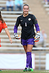 25 October 2015: Clemson's Kailen Sheridan (CAN). The University of North Carolina Tar Heels hosted the Clemson University Tigers at Fetzer Field in Chapel Hill, NC in a 2015 NCAA Division I Women's Soccer game. UNC won the game 1-0.