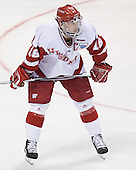 Adam Burish - The University of Wisconsin Badgers defeated the University of Maine Black Bears 5-2 in their 2006 Frozen Four Semi-Final meeting on Thursday, April 6, 2006, at the Bradley Center in Milwaukee, Wisconsin.  Wisconsin would go on to win the Title on April 8, 2006.