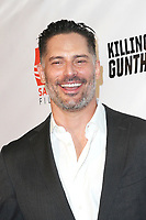 LOS ANGELES - OCT 14: Joe Manganiello at the premiere of Saban Films' 'Killing Gunther' at the TCL Chinese Theatres on October 14, 2017 in Los Angeles, CA