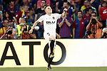 Valencia CF's Kevin Gameiro celebrates goal during Spanish King's Cup Final match. May 25,2019. (ALTERPHOTOS/Carrusan)